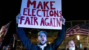 Encuesta: una quinta parte de los estadounidenses cree que las elecciones serán anuladas.