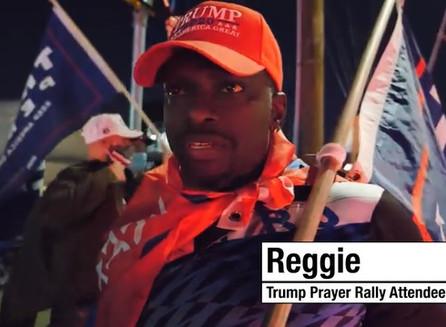 Partidario de Trump fuera de Walter Reed: 'Ha estado luchando por nosotros; Voy a luchar por el'.
