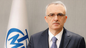 Contexto: Extracto de dinero criptográfico del gobernador del Banco Central Ağbal de Turquia.