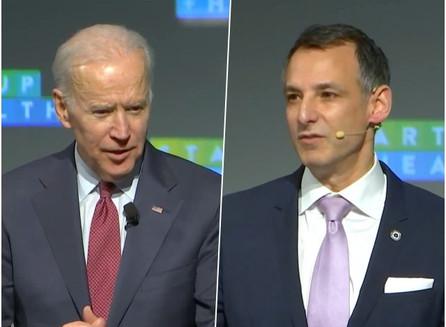 Yerno de Joe Biden invierte en startups de coronavirus como asesor de campaña sobre coronavirus.