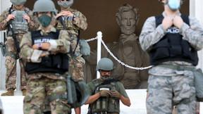 25,000 oficiales asegurando DC, inauguración de Joe Biden, 5 veces más que los efectivos en Irak/Afg