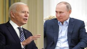 """Biden declara que Rusia amenaza """"emergencia nacional"""", lanza sanciones; 10 diplomáticos expulsados."""