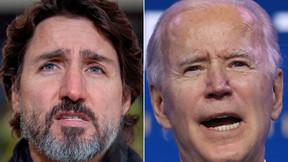Trudeau 'decepcionado' con el plan de Biden para revocar permiso Keystone XL.