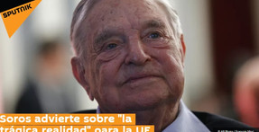 """Soros advierte sobre """"la trágica realidad"""" para la UE."""