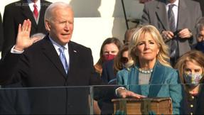 Tara Reade, acusadora de Biden, habla sobre la toma de posesión: 'indeciblemente dura'.