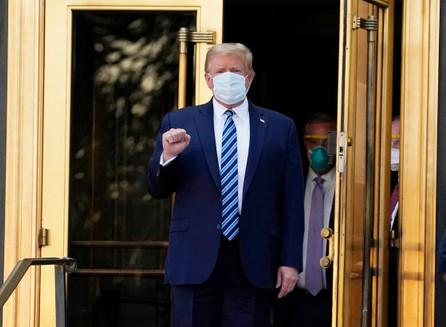Trump liberado de Walter Reed después de recibir tratamiento por COVID-19.