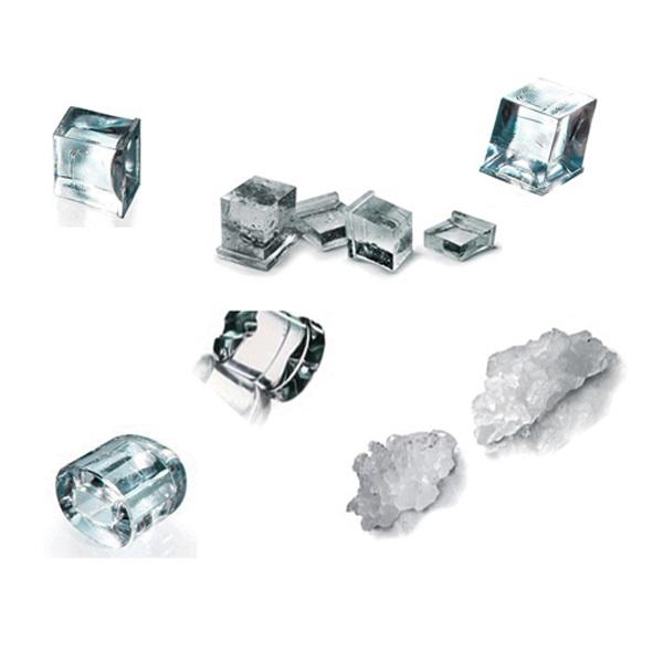Tipi di ghiaccio IDEA ALBERGO