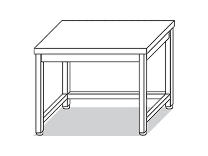 Tavolo con rinforzo