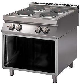 Cucina elettrica 4 piastre