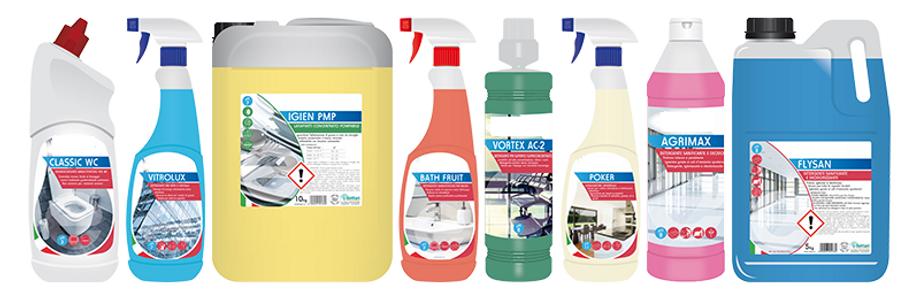 Detergenti industriali IDEA ALBERGO