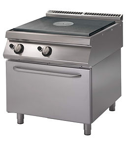 Cucina tutta piastra con forno IDEA ALBERGO