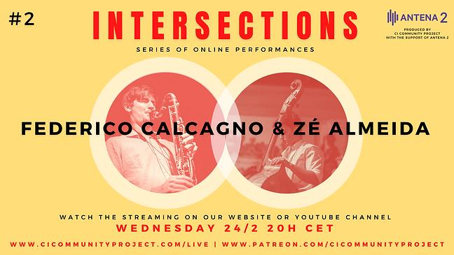 #2 - INTERSECTIONS - FEDERICO CALCAGNO &