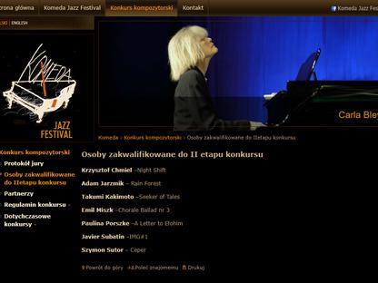 FINALIST | Komeda Jazz Composers' Competiton