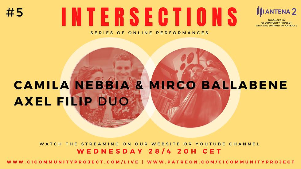 #5 - INTERSECTIONS - CAMILA NEBBIA - AXE