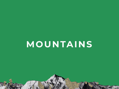 """New album """"MOUNTAINS"""" is out now!"""