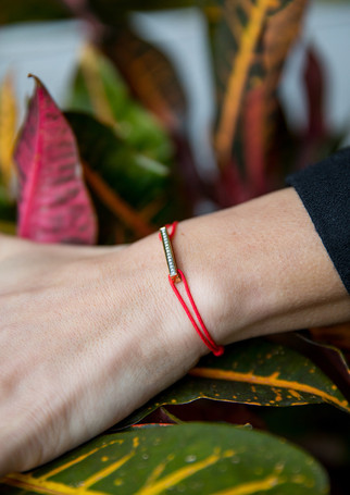 Pack Timeless - Diamond gold + red cord
