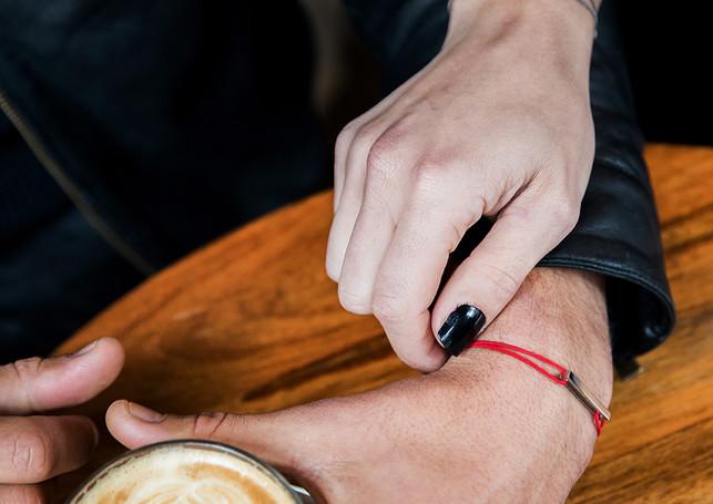 Pack Beresheet - Glazed L + red cord