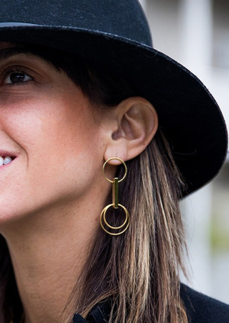 Pack Duo - Glazed S gold + gold circle earrings S + accessories (boost)