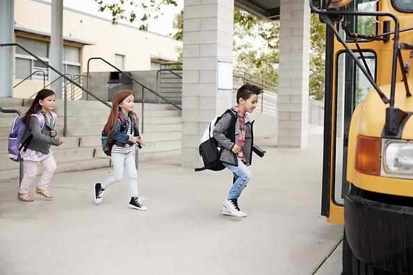 Fuß zum Bus