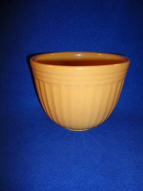 Highland Park, Illinois Yellow Ware Advertising Bowl