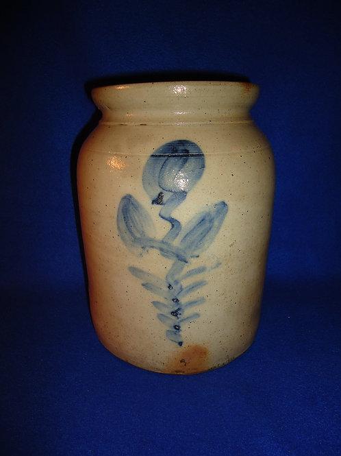 Cute Little 1 Gallon Stoneware Jar from the Northeast
