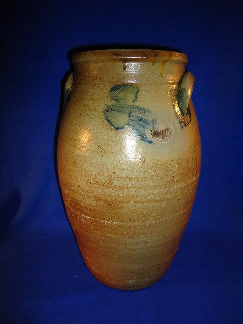 Peter Rodenbaugh, Akron, Ohio Stoneware 4 Gallon Churn