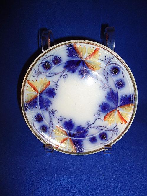 Edward Walley, Cobridge, England Gaudy Ironstone Small Plate, Blackberry Pattern