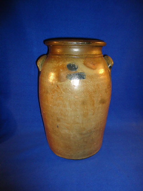 George Baird, Springfield Township, Ohio Stoneware 4 Gallon Churn