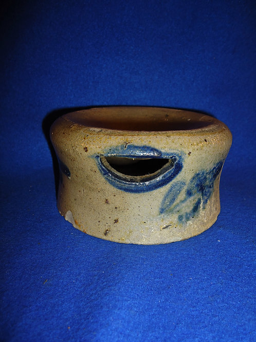 Rare Diminutive Salt Glaze Spittoon from Pennsylvania, #4691