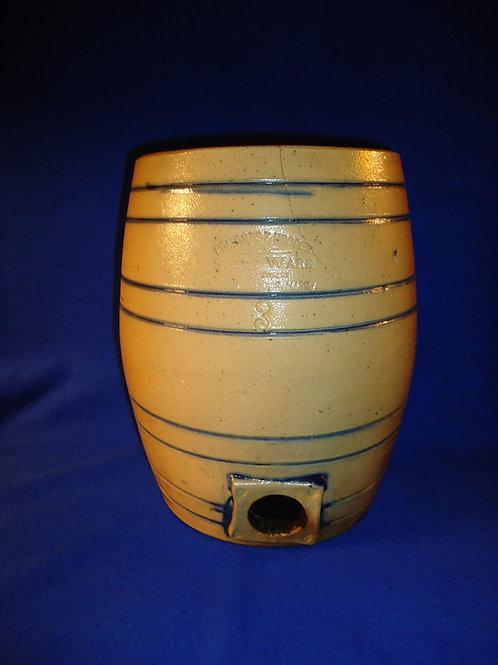 Edmands & Hooper, Charlestown, Massachusetts 3 Gallon Stoneware Water Cooler