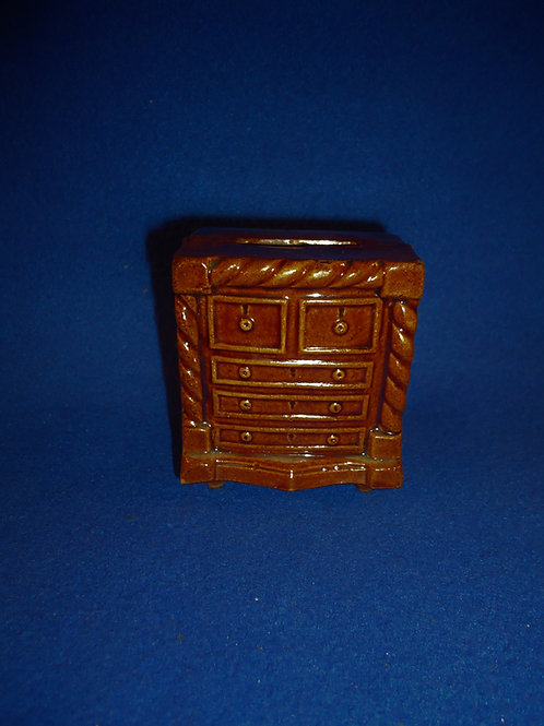 Late 19th Century Yellow Ware Dresser Bank