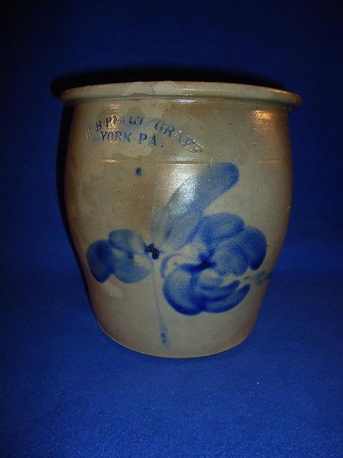 H. B. Pfaltzgraff, York, Pennsylvania Stoneware 1 Gallon Cream Pot