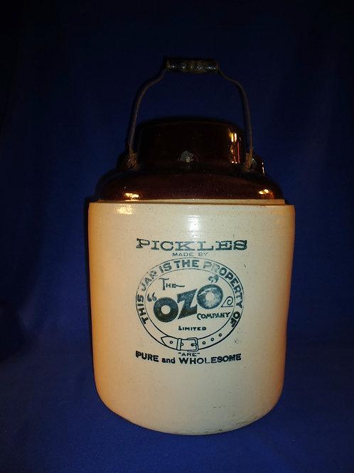Ozo Pickles 5 Gallon Stoneware Jar