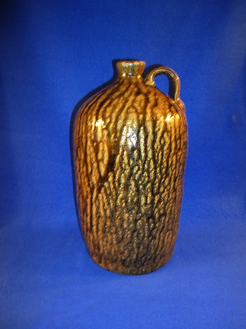 Circa 1850's Charles Avera, Crawford County, Georgia 1 Gallon Stoneware Jug