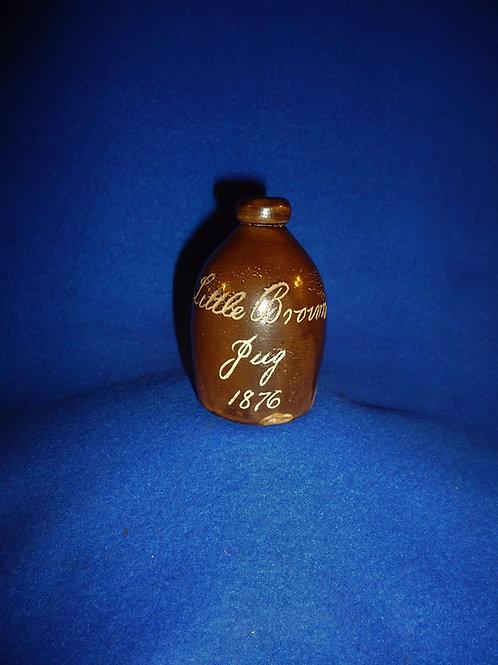 Centennial 1876 Little Brown Jug by E. L. & P. Norton  #4986
