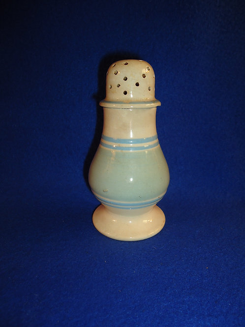 Blue and Whites Pearlware Mocha Pepper Pot