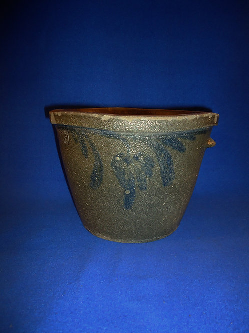 J. M. Hickerson, Strasburg, Virginia Stoneware 1 Gallon Bowl
