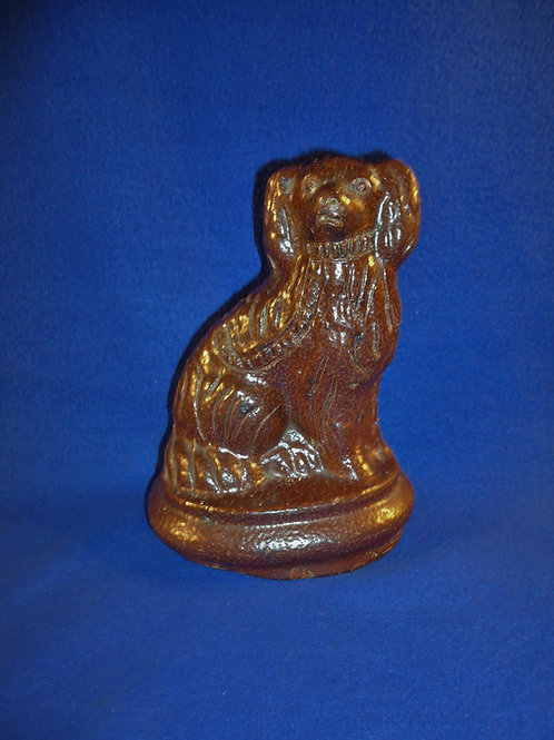 Sewer Tile Seated Spaniel Doorstop from Ohio