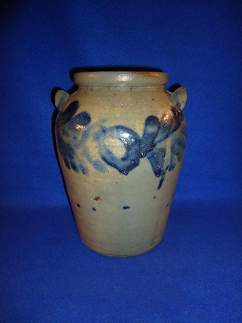 Henry Myers, Baltimore, Maryland Stoneware Jar, att. Henry Remmey, Sr.