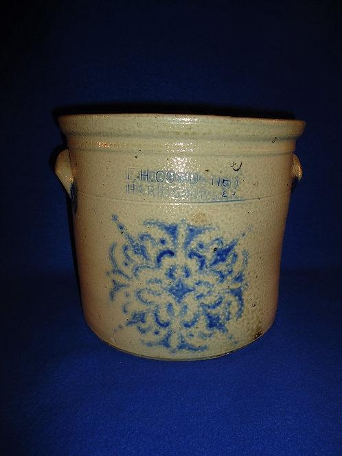 F. H. Cowden, Harrisburg, Pennsylvania Stoneware Crock with Snowflake #5592