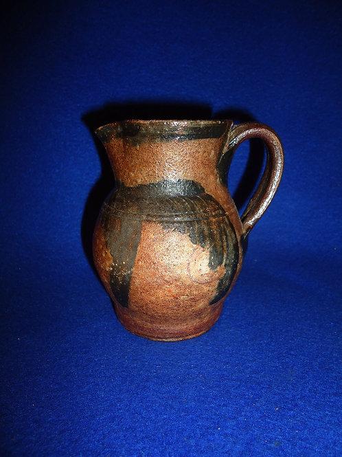Circa 1860 Stoneware Miniature Pitcher, att. David Parr, Richmond, Virginia