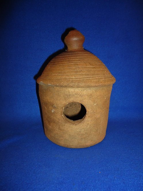 Early 20th Century Redware Birdhouse #5844