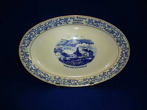 Homer Laughlin Stoneware Platter with East Liverpool Ohio Pottery