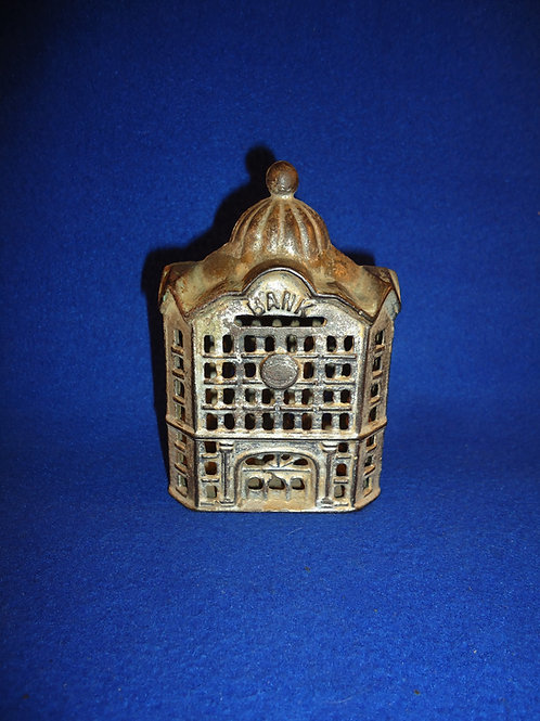 Domed Bank Cast Iron Bank, A. C. Williams #5268