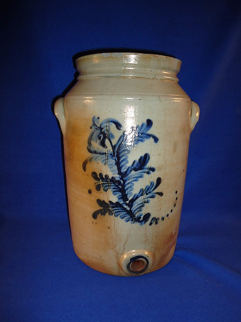 3 Gallon Stoneware Water Cooler from New Jersey