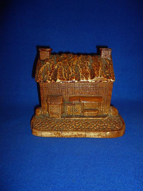 English Stoneware Tobacco Humidor, Elizabethan House #5071