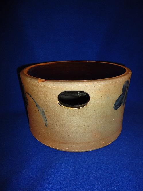 Circa 1870 Stoneware Spittoon from Baltimore, Maryland