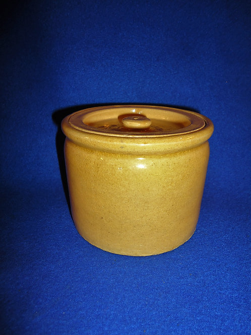 Bauer Yellow Ware #1 Spice Jar with Lid