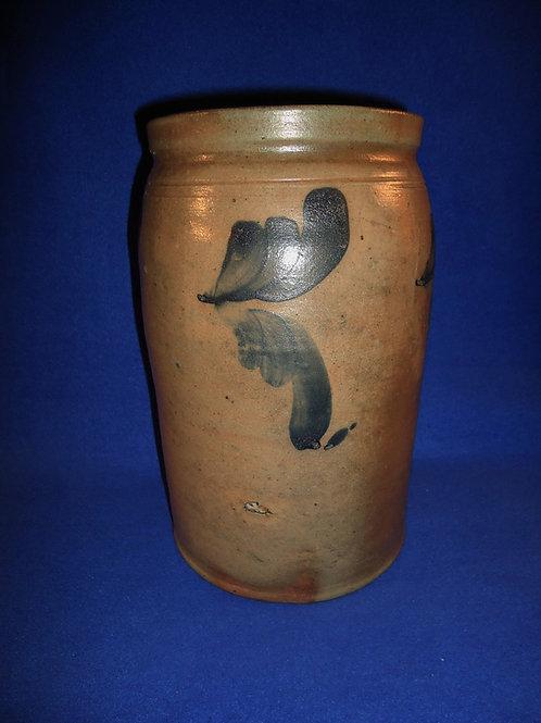 1 Gallon Stoneware Jar att. Richard Remmey of Philadelphia