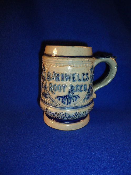 Bardwell's Root Beer Stoneware Mug by Whites Pottery of Utica, N.Y.
